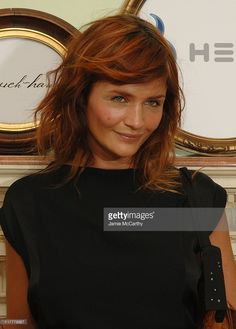 Helena Christensen during Helio Presents an After Party to Celebrate Jovovich-Hawk's Spring 2007 Collection at Private Residence in New York City, New York, United States.