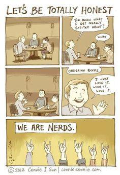 I am such a nerd...and a geek.