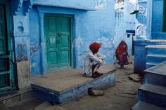 here comes the rain again falling from the stars - nubbsgalore:   the indian city of jodhpur,...
