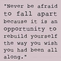 Building Yourself