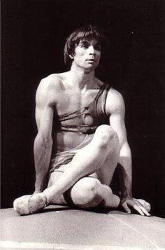 Rudolf Hametovich Nureyev, dancer, director, choreographer and producer, born Razdolnaya Lake Baikal 17 March 1938, Soloist Kirov Ballet Leningrad 1958-61