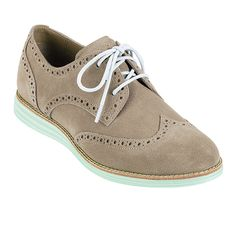 I'm thinking about getting these to walk around in Paris this fall.....something like a tennis shoe but cuter!  LunarGrand Wingtip - Womens Shoes: Colehaan.com