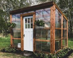 Lean To Greenhouse, Greenhouse Plans, Backyard Greenhouse, Greenhouse Kitchen, Pallet Greenhouse, Garden Gazebo, Greenhouse Wedding, Barn Plans, Shed Plans