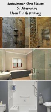 Badezimmer Ohne Fliesen 50 Alternative Ideen Fur Gestaltung