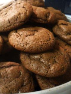 Chocolate Cocoa Cookies. Make these simple delicious treats for Fathers Day.