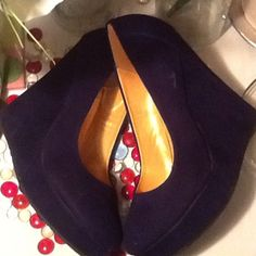 Purple Suede Wdeges Gorgeous Purple Suede Wedges- Sz 9M- 5' Wedge Heels- Only worn once- Super Trendy! I Promise U Shoes