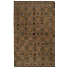 Herat Oriental Indo Hand-knotted Tibetan Tan/ Rug