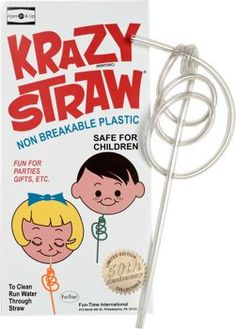 Krazy Straws at The Vermont Country Store