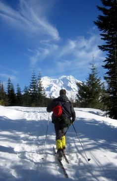 Cross Country Skiing... hope to try this adventure sometime.  Anyone wanna join me?? :)