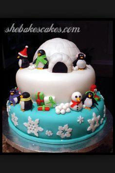 Xmas cake idea