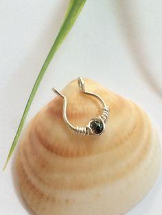 Fake Septum Ring  Fake Septum  Septum Jewelry  by FlowerRainbowNJ