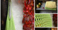 Z podzimní fotky vám je jasné, že síťovky jsou už starší dílo. Chtěla jsem vám je ukázat až společně s návodem, což mi trochu trval... Crochet Bags, Knitting, Flowers, Crochet Clutch Bags, Crochet Tote, Tricot, Breien, Knitting And Crocheting, Royal Icing Flowers
