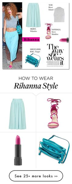 """""""Look For Less: Rihanna"""" by putricp on Polyvore"""
