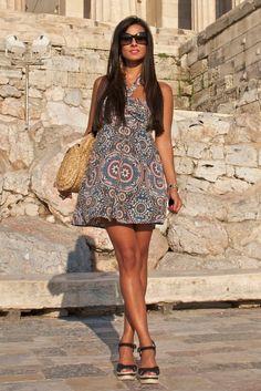 Cute summer dress for the beach!