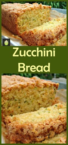 Super Moist Zucchini Bread. A wonderful soft, moist and sweetish loaf cake perfect with a cup of tea! #cake #courgette