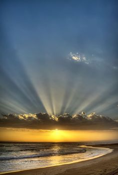Rays of the Bays by Michael Cronje - Landscapes Waterscapes ( sunset, south africa, sea, ocean ) Beautiful Pictures, Beautiful Places, Beautiful Sunrise, Beautiful Beach, Amazing Nature, Belle Photo, Beautiful Landscapes, Nature Photography, Scenery