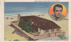 Cary Grant beach house in Santa Monica