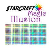 Starcraft Magic Illusion Adhesive Vinyl 12 X 12 Sheets Glittery Sparkle Holographic With A Smooth Finish Adhesive Vinyl Illusions Magic Illusions