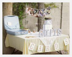 photos, vintage suitcase to put gifts & cards, Las vegas rustic DIY wedding, gaby j photography