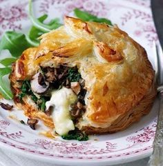 Mushroom Camembert Wellingtons Come and see our new website at bakedcomfortfood.com!