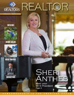 2015 Realtor Magazine - February March Home Ownership, February, Author, Magazine, American, Magazines