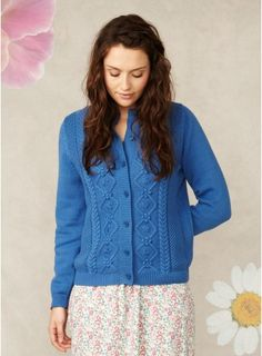 Lilly Cable Knit Cardigan