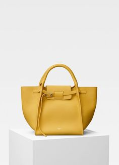 Small Big Bag with long strap in supple grained calfskin  64ff902d73508