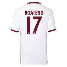 Bayern Munich Third 16-17 Season BOATENG #17 Soccer Jersey [G312]