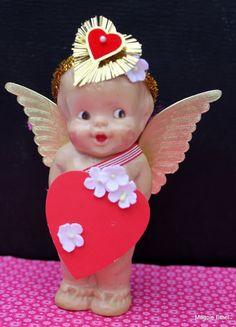 Vintage Style Valentine Doll - Cupid