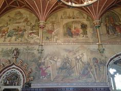 Cardiff Castle House by treevis, via Flickr  Designed by William Burges