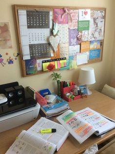 Study Areas, Study Space, Study Room Decor, Bedroom Decor, Study Table Organization, Study Corner, Study Inspiration, Aesthetic Room Decor, Luxury Decor