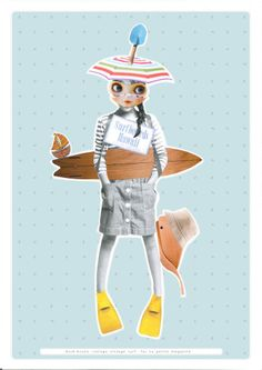 My latest work, for LA PETITE MAG issue 7 - SS12