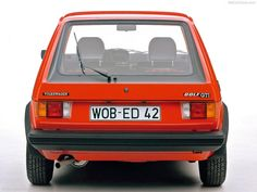 Volkswagen / VW Golf I GTI - Rear, 1976