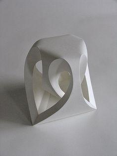 Скульптуры из бумаги (автор Richard Sweeney)