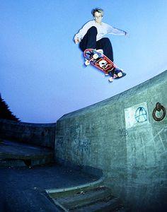 Young Tony Hawk. Skate or die!