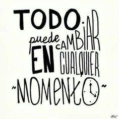 #Cambios