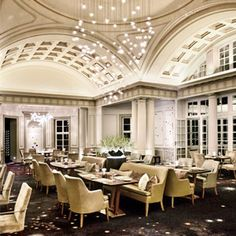 Planet Restaurant at Mount Nelson Hotel, Cape Town.