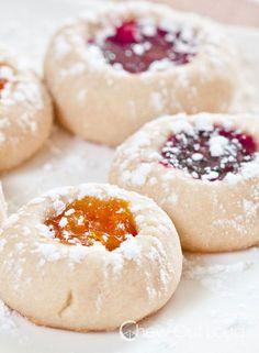 Buttery Jam Thumbprint Cookies Recipe - RecipeChart.com