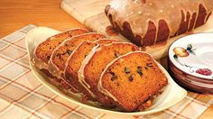 Moist Pumpkin Bread with Caramel Glaze - This recipe from Patrice Taylor is super moist and absolutely divine.