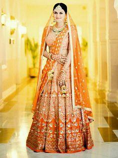 Indian Wedding Bride, Indian Wedding Outfits, Indian Outfits, Indian Clothes, Wedding Dresses, Indian Attire, Indian Wear, Indian Bridal Lehenga, Asian Bride
