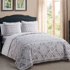 Laurel Foundry Modern Farmhouse Bibeau Quilt Set & Reviews | Wayfair