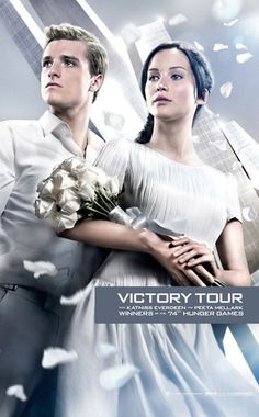 Catching Fire Poster (Victory Tour)