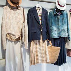 ユニクロ×イネス・ド・ラ・フレサンジュ 17年春夏 - 爽やかでノスタルジックなワンピやシャツの写真9