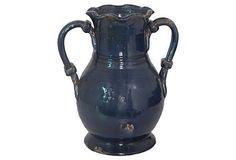 12 Navy Vase on OneKingsLane.com