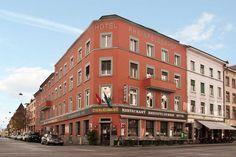 Rheinfelderhof Felder, Multi Story Building, Mansions, House Styles, Home Decor, Fine Dining, Architecture, Luxury Houses, Interior Design