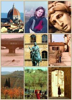 Tuscany: Limited edition poster of scenes in Tuscany, Italy, 1982. Falcon Fabrics Australia