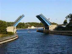 Draw Bridge in Charlevoix, MI