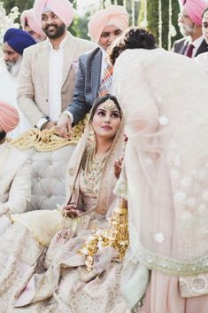One bride tells her exactly how much she spent on her dream Sabyasachi Lehenga. You have to see her beautiful Patiala Wedding. Punjabi Wedding Decor, Desi Wedding, Wedding Looks, Bridal Looks, Bridal Style, Sabyasachi Bridal Lehenga Price, Sabyasachi Bride, Wedding Dress Men, Wedding Outfits