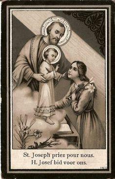 Saint Josef pray for us
