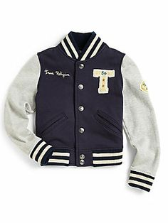 Grey White NY Letters Baseball Jacket For Girls 2013 - $92.99